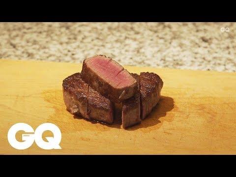 日本料理「青柳」へ弟子入り!Part4【肉の焼き方 ヒレ編】| GQ TASTE | GQ JAPAN