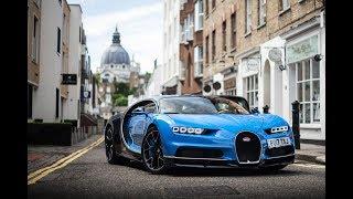 FIRST '17 plate Bugatti Chiron SOUNDS in London!
