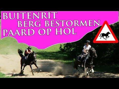 Buitenrit | PAARD OP HOL | BERG BESTORMEN | Paardrijden met Plezier