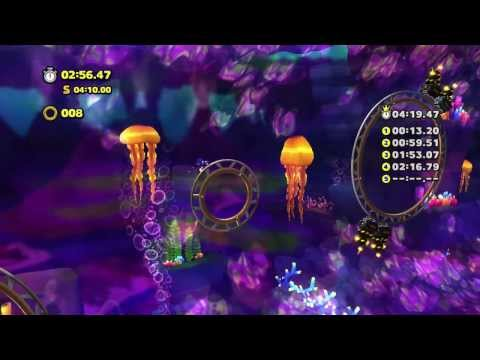 Sonic Lost World - Wii U - Lava Mountain Zone 2