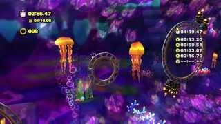 Sonic Lost World - Wii U - Lava Mountain Zone 2