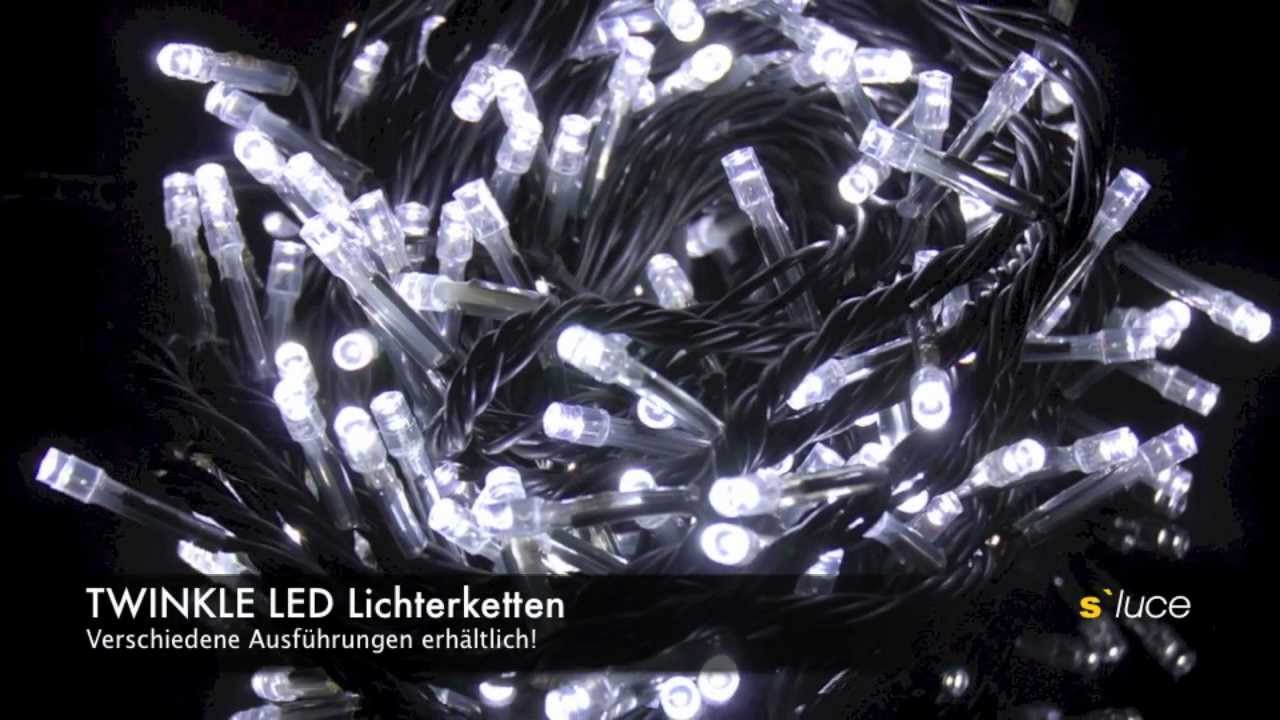 s luce twinkle led lichterketten easy quick system von licht design skapetze youtube. Black Bedroom Furniture Sets. Home Design Ideas