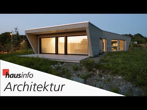 Architektur-Reportage: Eingeschossiges Minergie-Holzhaus