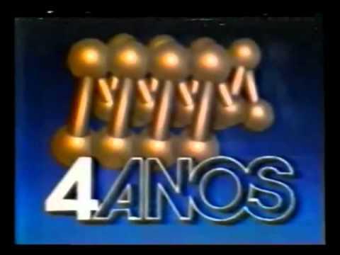 Vinheta: Rede Manchete - 4 anos (1987)