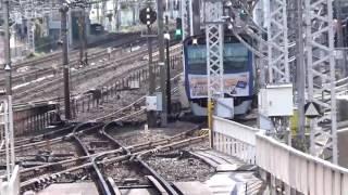 相鉄横浜駅3番線回送入線