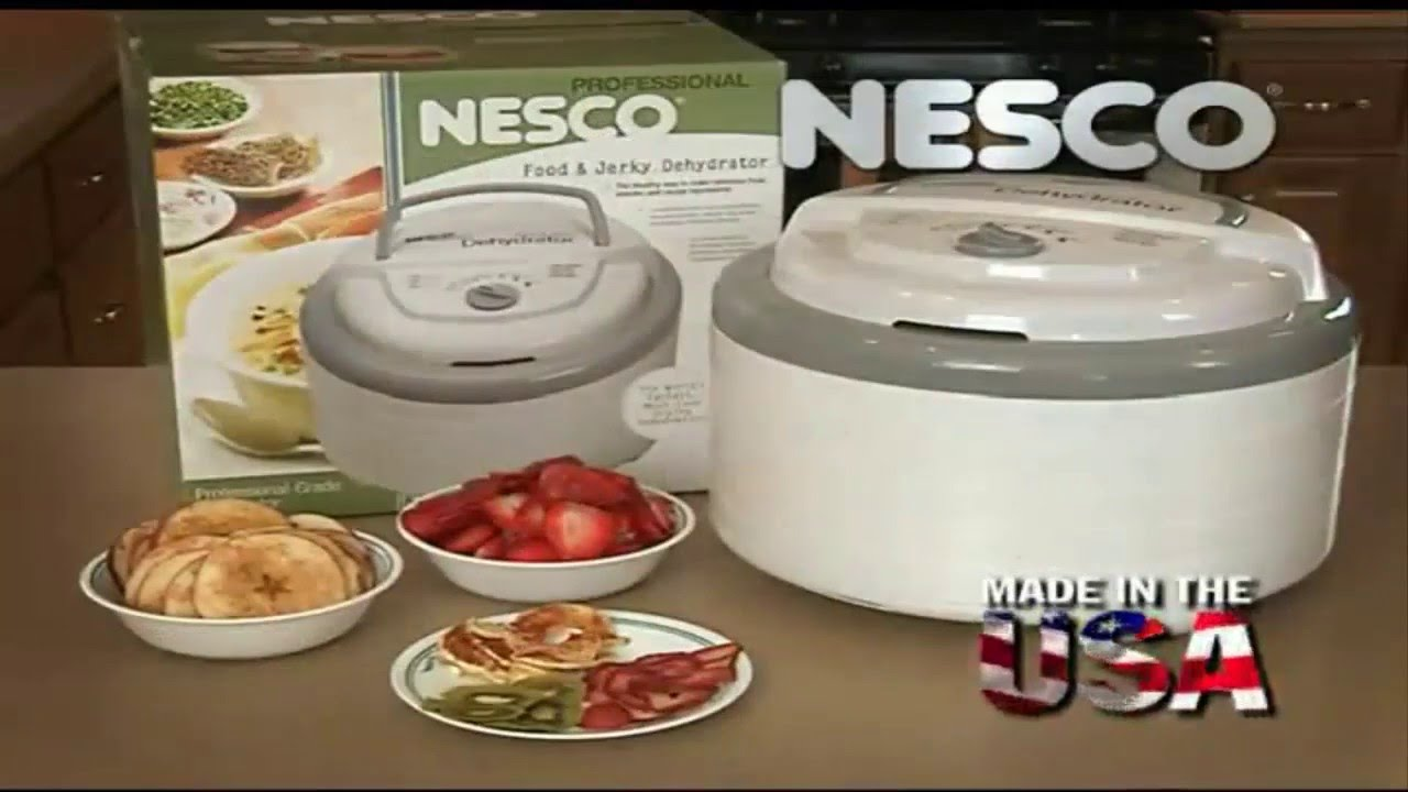 nesco snackmaster pro food dehydrator fd-75a review - youtube