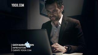 ► Ed è subito mio - SPOT TV con GIOVANNI FIORIN, Imprenditore e Cliente | by yoox.com Thumbnail