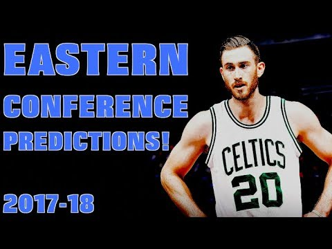 My Eastern Conference Standings Predictions for the 2017-18 NBA SEASON!