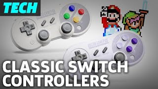 SNES Style Controllers For Nintendo Switch: 8bitdo SF30 Pro And SN30 Pro