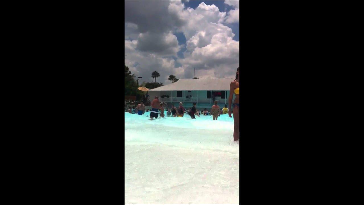 Adventure Island Tampa: Wave Pool At Adventure Island Tampa