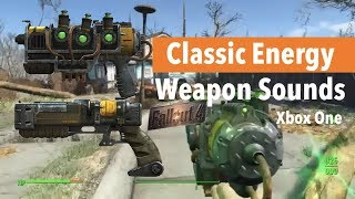 Fallout 4 Xbox One Mods|Classic Energy Weapon Sounds