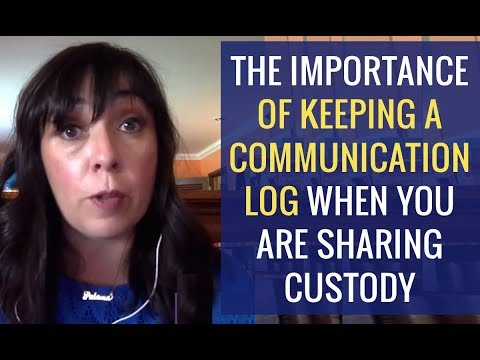 Keep A Co Parenting Communication Log When Sharing Child Custody