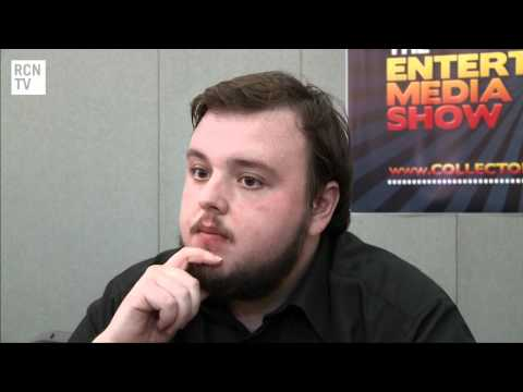 Game Of Thrones Samwell Tarly - John Bradley Interview - YouTube