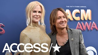 Keith Urban & Nicole Kidman Share A Romantic Kiss At The 2018 ACM Awards | Access