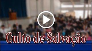 Culto de salvação 15 de setembro de 2018 com Rev. Miguel Bermúdez Marín