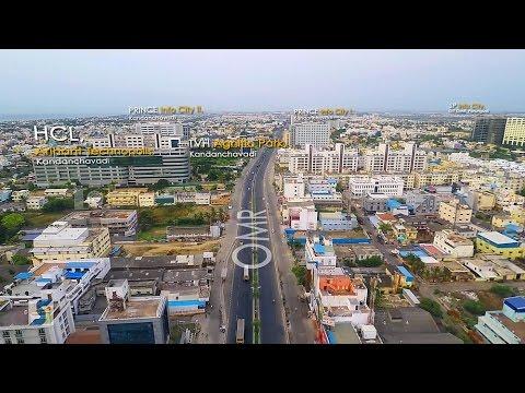 Destination OMR(Chennai) | Chennai OMR Real-Estate Aerial Video Directory