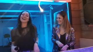 Nicky Louwers and Sarah Fall Live at Club V Christmas Bash 21/12/2019