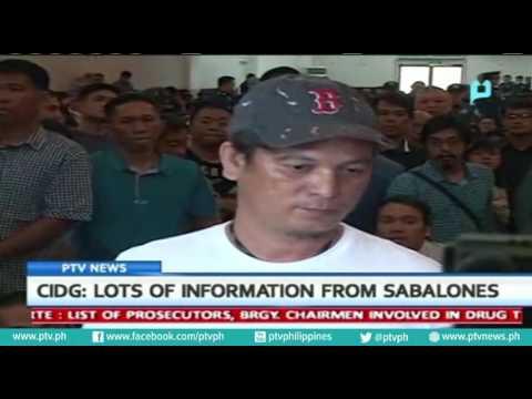 [PTVNews] Lots of information from Sabalones - CIDG