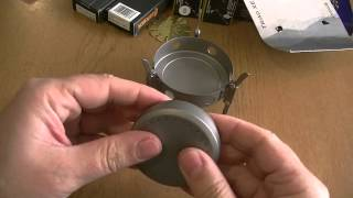 Vargo Titanium Triad XE Alcohol Fuel Tab Stove thumbnail