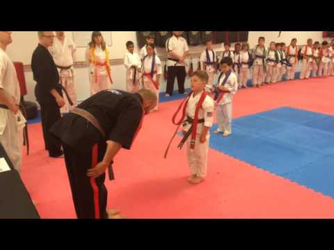 Red belt graduation to Brown