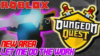 BRAND *NEW* DUNGEON MAP! owTreyalP Carries Team?!? | Roblox: Dungeon Quest