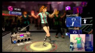 Dance Central-Crank That(Soulja Boy) Easy(Picture in Picture)