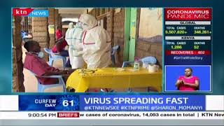 Virus spreading fast: Turkana county records it's first infection as confirmed cases rise to 1,286