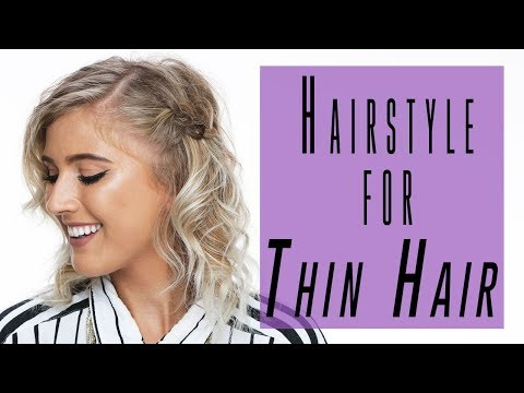 Easy Hairstyle Tutorial for Thin Hair