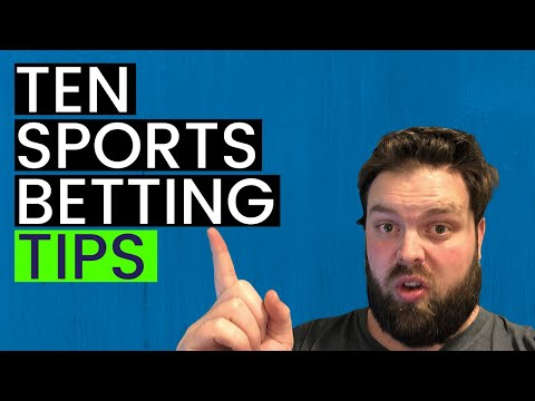 10 Sports Betting Tips to Make More Money in 2020