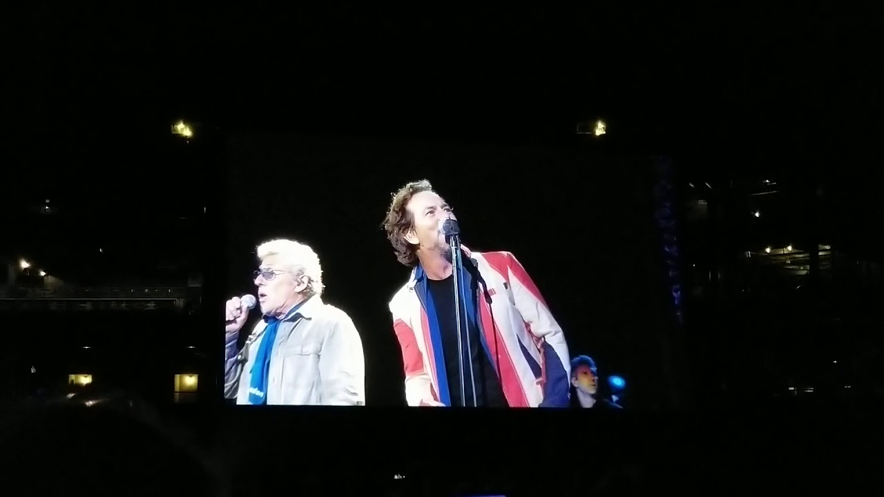 The Who with Eddie Vedder in Seattle @ T-Mobile Park 10.19.19