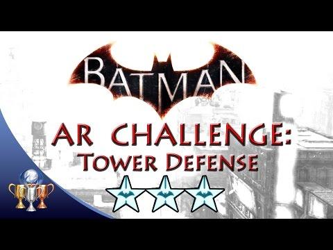 Batman Arkham Knight Tower Defense (3 STARS) Combat AR Challenge