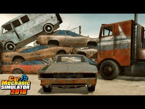 The Junkyard Gold Mine & Barn Find 5 - Rolling In Money - Car Mechanic Simulator 2018 How To Be Rich