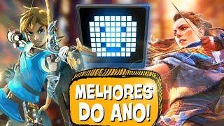 5 MELHORES JOGOS de 2017! 🏆 🎖- PIPOCANDO GAMES