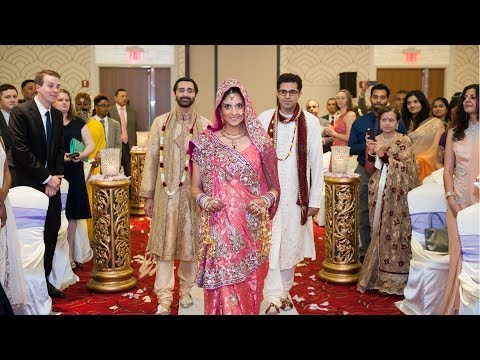 Walk Down The Aisle An Indian Wedding at Renaissance Newark Airport Hotel NJ