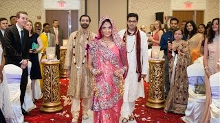 Walk Down The Aisle An Indian Wedding at Renaissance Newark Airport Hotel NJ