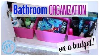 SPRING CLEANING| Bathroom Organization Ideas