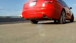 audi 3 2l v6 a6 c6 custom exhaust ill industries k6 mufflers