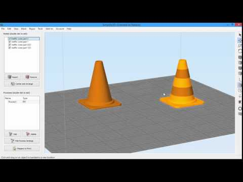 Selecting and Grouping Models | Simplify3D - YouTube