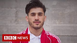 Olympic refugee athlete who lost his mum to Covid - BBC News