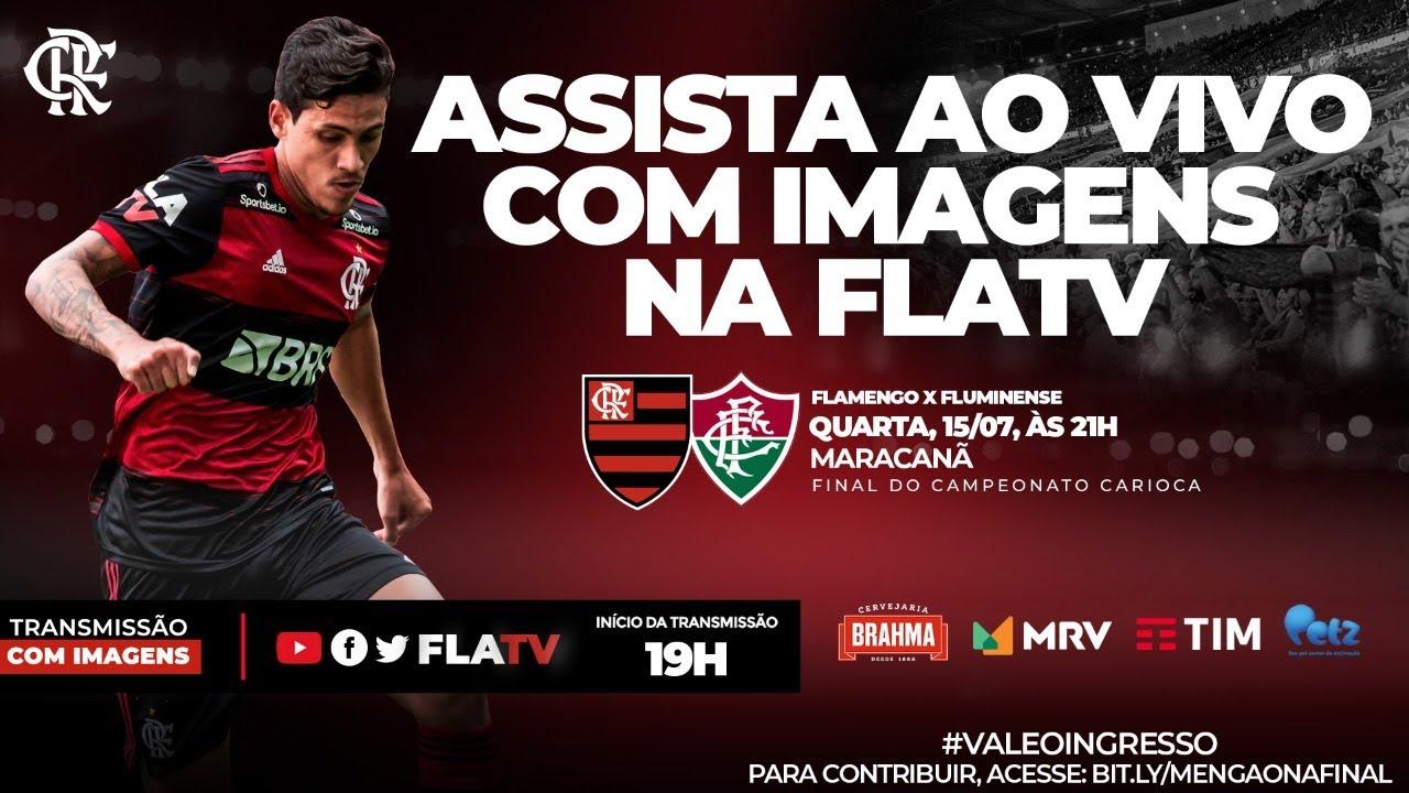 Flamengo x Fluminense - Final do Campeonato Carioca (Ao Vivo ...
