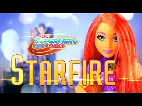 Unbox Daily: DC Superhero Girls - Starfire - Doll Review - 4K