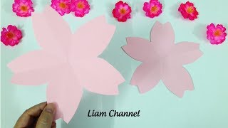 DIY Cherry Flower | Liam Channel