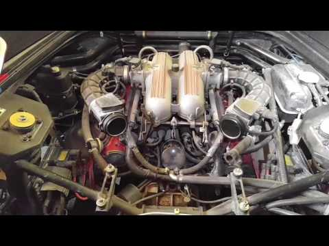 Ferrari 348 Engine Removal.     (NB:  make sure your viewing device shows the correction notes)