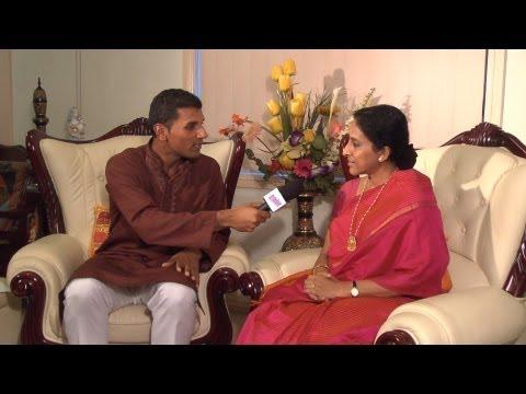 Oscar Nominee Bombay Jayashri talks to Dinesh on OzIndian TV Show