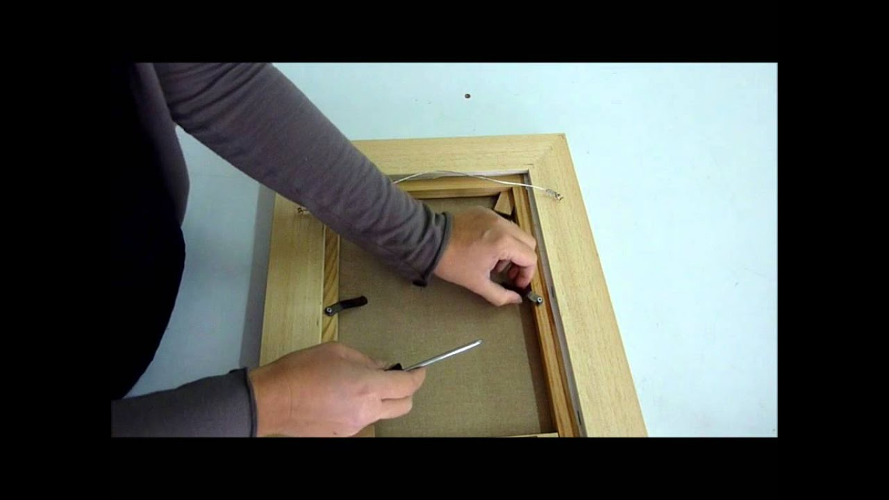 Comment Encadrer Une Toile encadrement sur mesure, fixer votre tableau dans votre caisse américaine ?