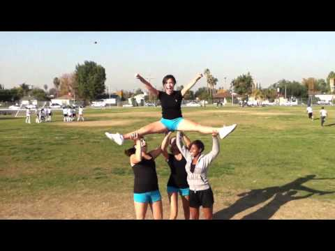 Cheer Stunt (Teddy Bear) Sherman Oaks CES