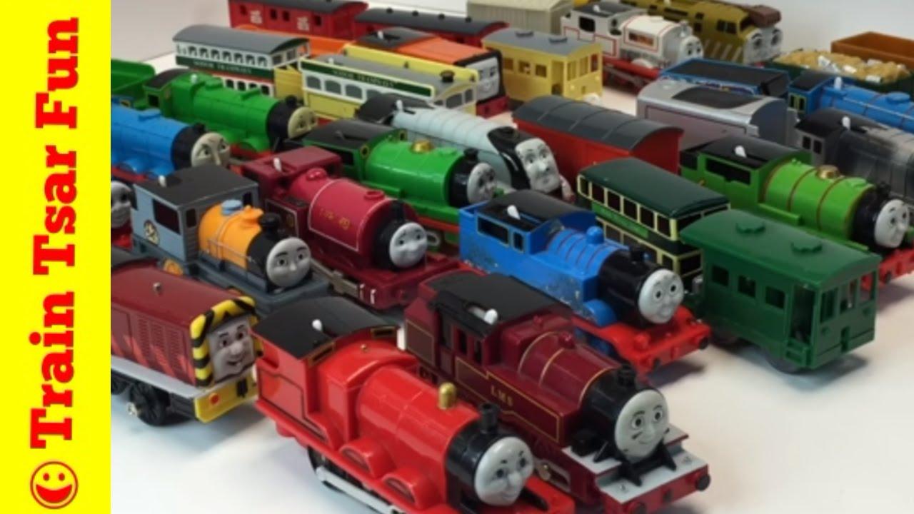 Thomas The Tank Engine Big Track Master And Tomy Ebay Toy