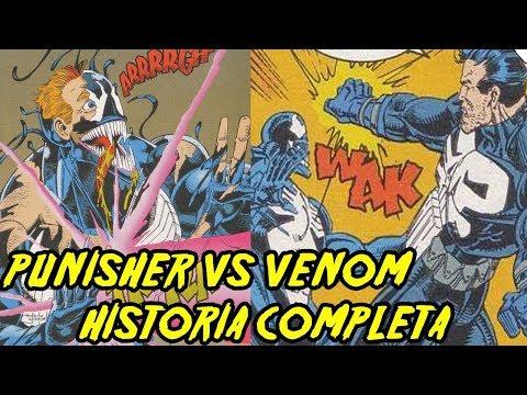 Punisher vs Venom - Vigilantes Letales - Historia Completa