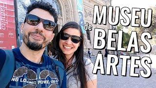 Pontos turísticos de Santiago do Chile: vlog de viagem no Museu de Belas Artes