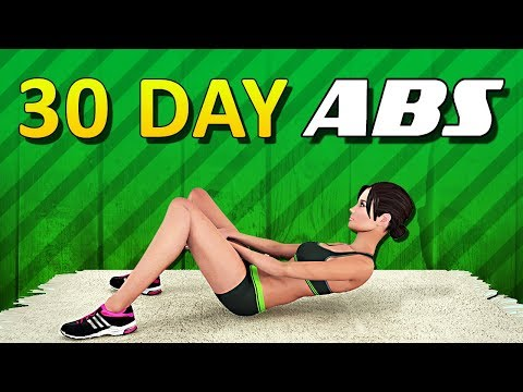 30 Day Ab Challenge [Get A Six Pack In 30 Days]